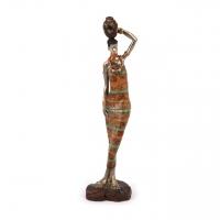 Африканская статуэтка женщины 7177 A