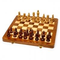Настольные шахматы из дерева резные большие G533
