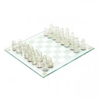 Шахматы стеклянные подарочные GJ03
