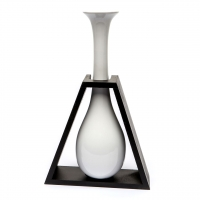 Керамическая ваза белая 09147