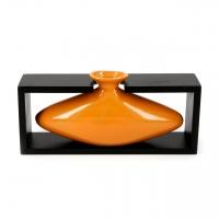Ваза керамическая оранжевая 008C