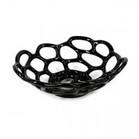 Фруктовница из керамики черная 898-3