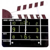 Настенные часы Дубль в кино T8249 Decos