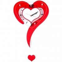 Настенные часы Сердце T7331