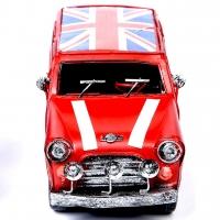 Модель автомобиля Rover красный 8582