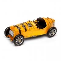 Модель гоночного ретро автомобиля желтый 8324 Decos