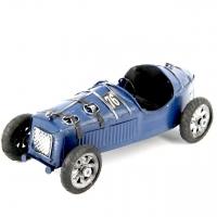 Модель гоночного ретро автомобиля синий 8324 Decos