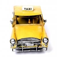 Модель ретро автомобиля такси A7367