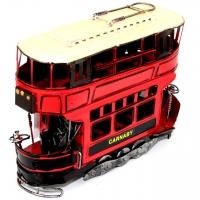 Модель двоповерхового трамвая тисяча сімсот вісімдесят одна Decos