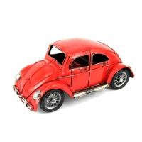 Модель автомобиля Volkswagen Zuk красный 1811A Decos