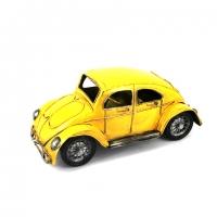 Модель автомобиля Volkswagen Zuk желтый 1811B Decos