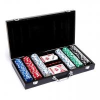 Набір для покеру на 300 фішок з номіналом WS11300N