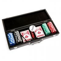 Набір для покеру на 100 фішок з номіналом в кейсі WS11100N