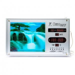 Картина водопад №2 часы