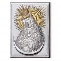 Икона Остробрамская Богоматери 18062/3L Valenti