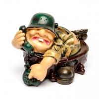 "Подарочная копилка для монет для военного ""Артиллерист"" 3F8249"