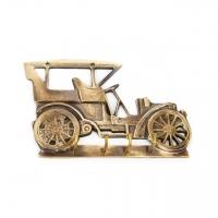 Оригинальная настенная вешалка в прихожую Автомобиль 1086 Brasstico