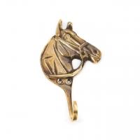 Необычная вешалка для одежды конь 4604 Brasstico