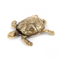Шкатулка пепельница черепаха 1451