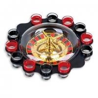 Алкогольная игра пьяная рулетка со стопками S12R на 12 рюмок