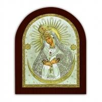 Ікона Остробрамської Божої Матері EP2-067XAG/P Silver Axion