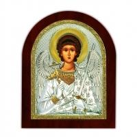 Икона Ангела Хранителя EP2-172XAG/P Silver Axion