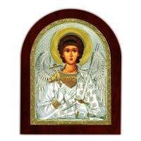 Икона Ангела Хранитель EP3-172XAG/P Silver Axion