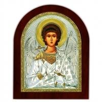 Икона Ангела Хранитель EP4-172XAG/P Silver Axion