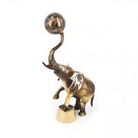 Статуетка слон з м'ячем 2126 Brasstico