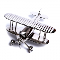 Модель самолета сувенир из металла ANT.1678 Brasstico