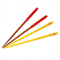 Набор для суши палочки красные и желтые 2 пары 44