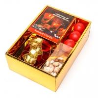 Подарунковий набір свічок 3 шт і свічник 2006P-B