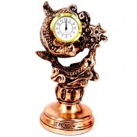 Статуэтка настольные часы знак зодиака Рыбы T1130