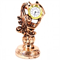 Статуэтка настольные часы знак зодиака Водолей T1135