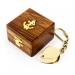 Брелок лупа в деревянной шкатулке NI033A