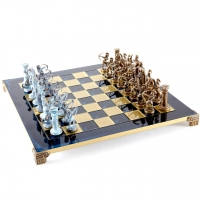 Шахматы Лучники S10BBLU Manopoulos