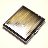 Портсигар металлический CY015-4-1