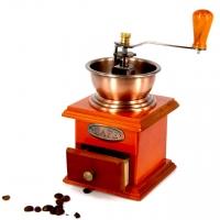 Кофемолка ручная в деревянном корпусе CH147E