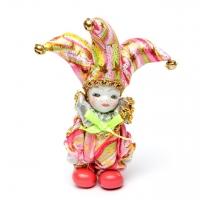 Статуэтка фигурка кукла венецианский шут A2 №2-09