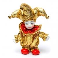 Статуэтка фигурка кукла венецианский шут A2 №2-11