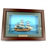 Картина модель корабля HMS Victory F01 Two Captains