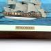 Картина модель корабля парусник Royal Caroline F03
