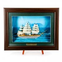 Картина модель корабля Amerigo Vespucci F05