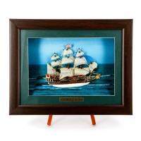 Картина модель военного корабля Sovereign of the Seas F07 Two Captains