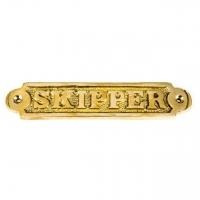 Табличка металлическая на двери Skipper 4113
