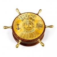 Настольный календарь на 100 лет морской штурвал NI448 Two Captains
