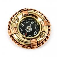 Корабельний компас морський Рятувальний круг 2795S Two Captains