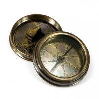 Старинный компас в античном стиле TITANIC 7224 Two Captains