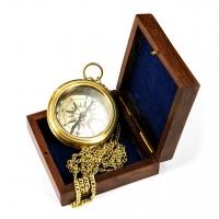 Подарочный компас магнитный с цепочкой 9033В