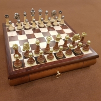 Шахматы элитные подарочные 141MW 332W
